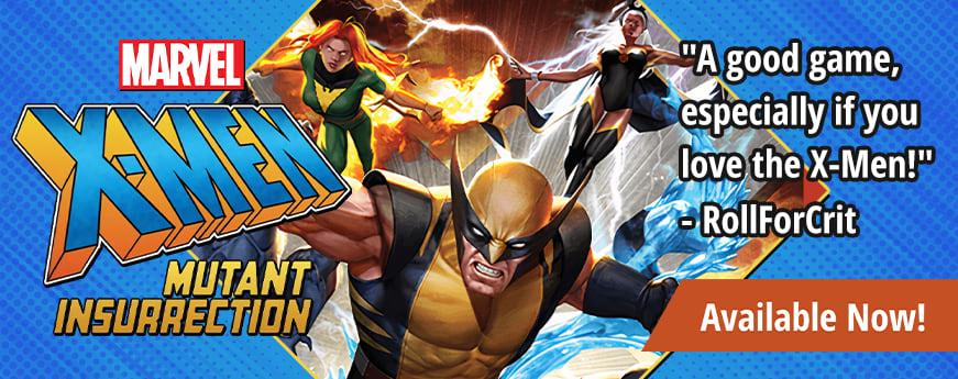 X-Men Mutant Insurrection available now!