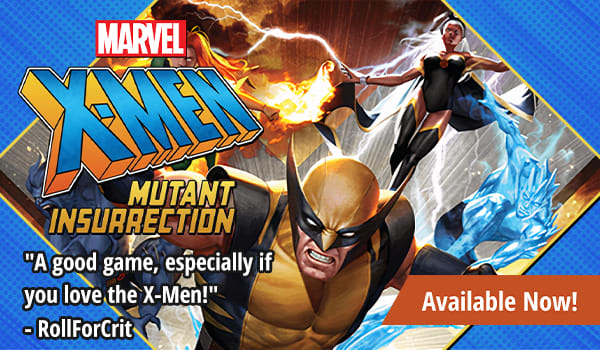 X-Men Mutant Insurrection available now!