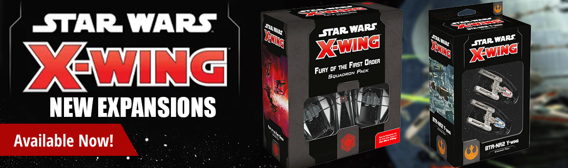 X-Wing Second Edition Expansions available now!