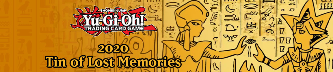 Yu-Gi-Oh! - 2020 Tin of Lost Memories