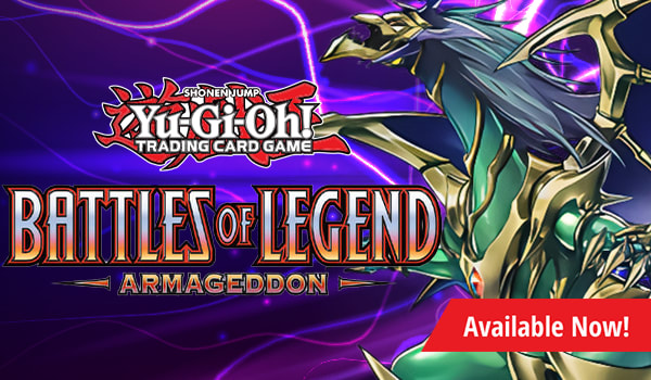 Battles of Legends Armageddon available now!