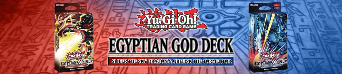 Yu-Gi-Oh! - Egyptian God Decks: Slifer the Sky Dragon and Obelisk the Tormentor