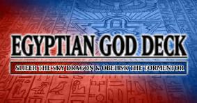 Yu-Gi-Oh Egyptian God Decks available now!