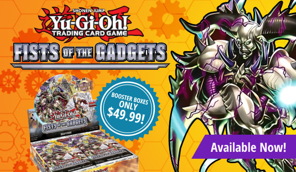 Fists of the Gadgets booster boxes only $49.99