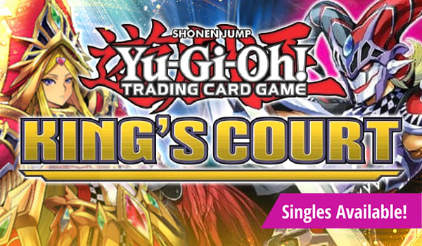 Yu-Gi-Oh King's Court available now!