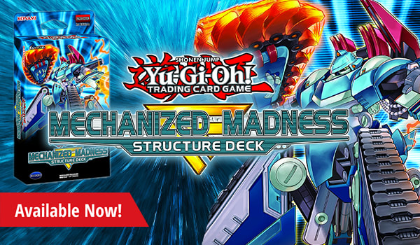 Mechanized Madness boxes and packs available now!