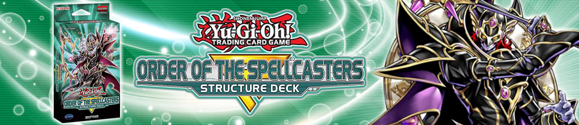 Yu-Gi-Oh! - Structure Deck: Order of the Spellcasters