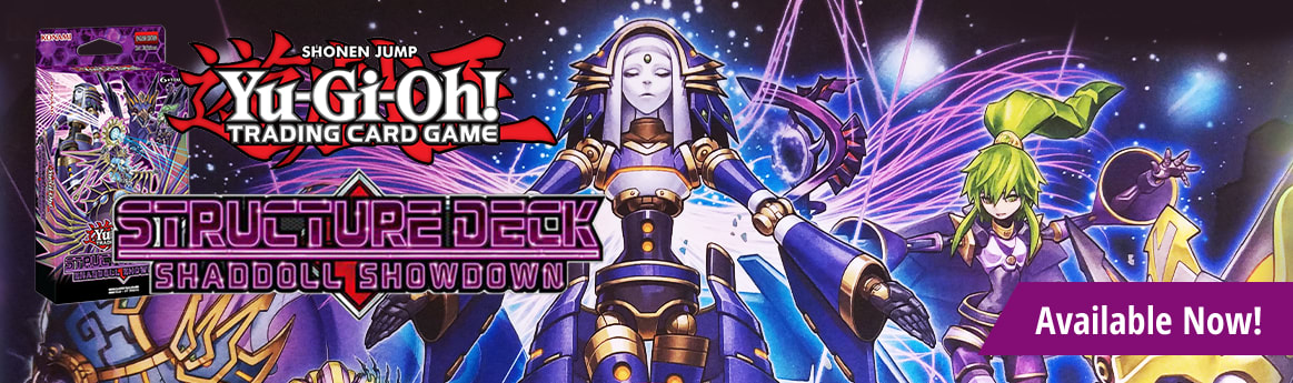 Structure Deck: Shaddoll Showdown Available Now