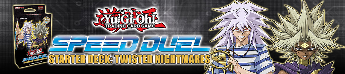 Yu-Gi-Oh! - Starter Deck: Speed Duel Twisted Nightmares