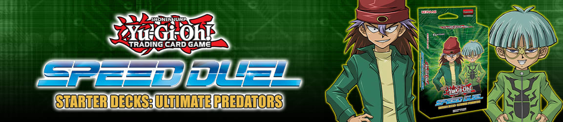 Yu-Gi-Oh! - Speed Duel Starter Decks: Ultimate Predators