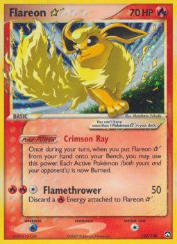 Flareon * (Star) 100/108