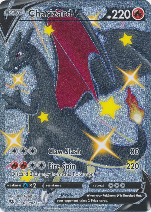 Charizard V (Shiny) 079/073