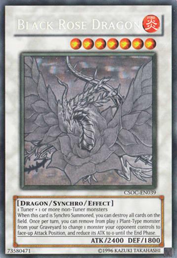 Black Rose Dragon (Ghost Rare)