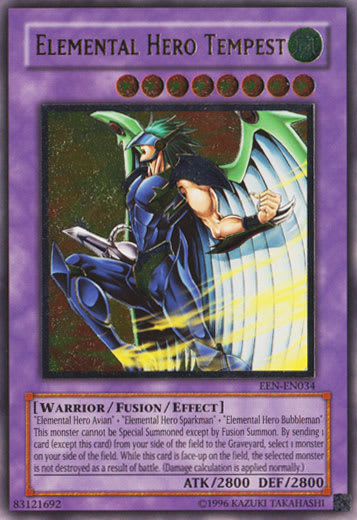 Elemental Hero Tempest (Ultimate Rare)