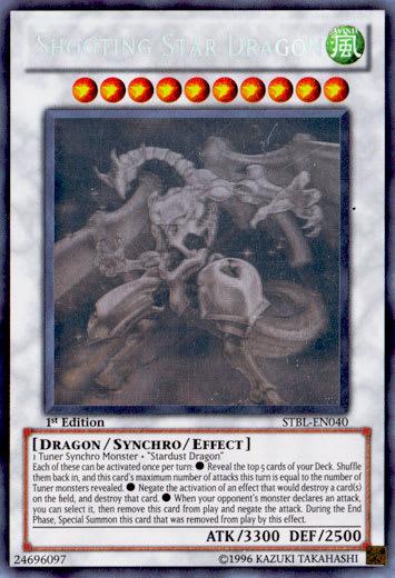 Shooting Star Dragon (Ghost Rare)