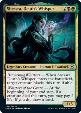 Shessra, Death's Whisper
