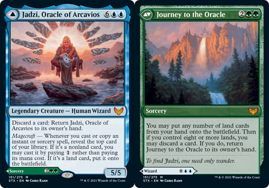 Jadzi, Oracle of Archavios // Journey to the Oracle
