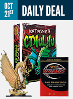 Daily Deal ~ Oct 21st, 2016