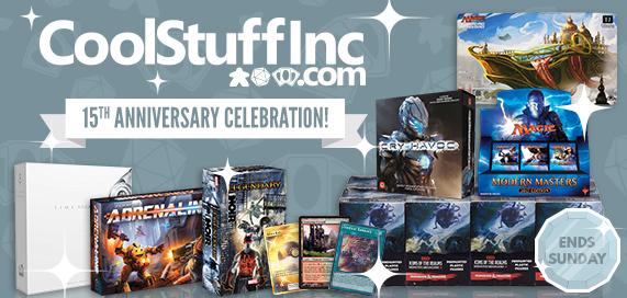 15th Anniversary Celebration Sale