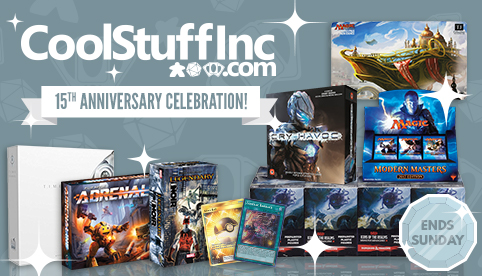 15th Anniversary Celebration Sale