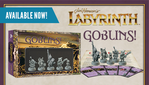Labyrinth the Board Game Goblins Expansion