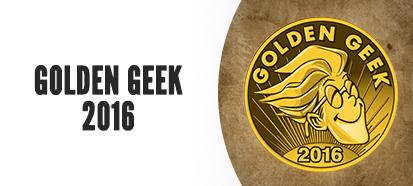 Golden Geek Winner