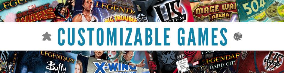 Board Games - Customizable Games