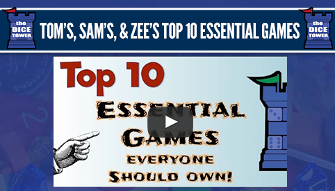 The Dice Tower Top 10 Essential Games