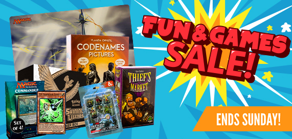 Fun and Games Sale
