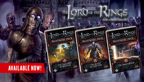 The Lord of the Rings LCG: Nightmare Decks