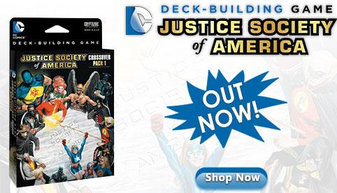 DC Comics DeckBuilding Game Crossover Pack 1: JSA