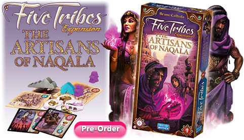 Five Tribes Expansion The Artisans of Naqala