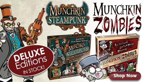 Munchkin Steampunk Zombies