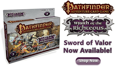 Pathfinder Adventure Card Game Wrath of the Righteous Sword of Valor