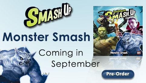 Smash Up Monster Expansion