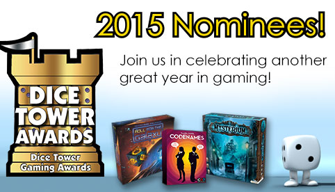 Dice Tower Award Nominees