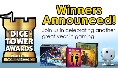 Dice Tower Award Winnders Nominees