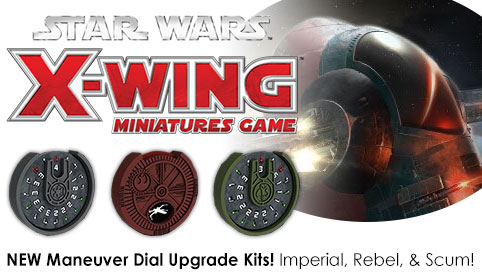 X-Wing Maneuver Dial Upgrade Kits