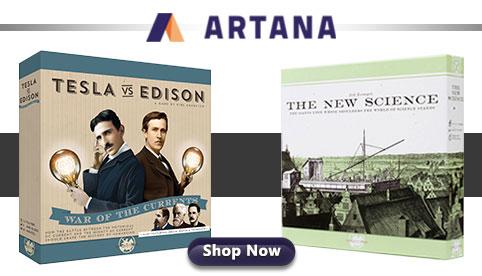 Artana Games Tesla vs Edison The New Science