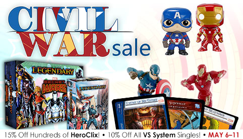 Civil War Sale
