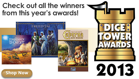 Dice Tower Awards 2013