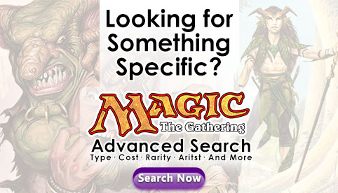 MTG Advanced Search