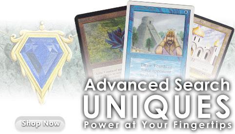 MTG Advanced Search Uniques