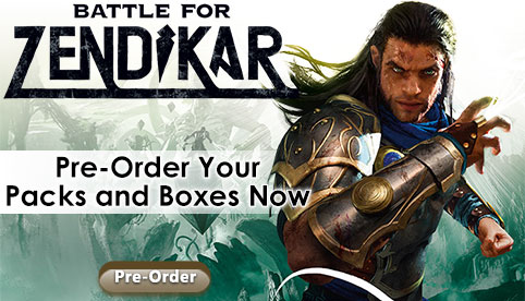 Battle for Zendikar Pre-Order