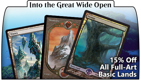 Full-Art Basic Lands Sale