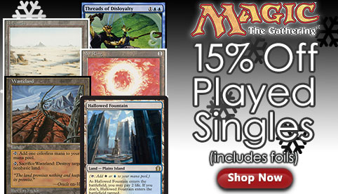 MTG Played Singles Sale