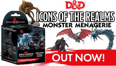 Icons of the Realms: Monster Menagerie
