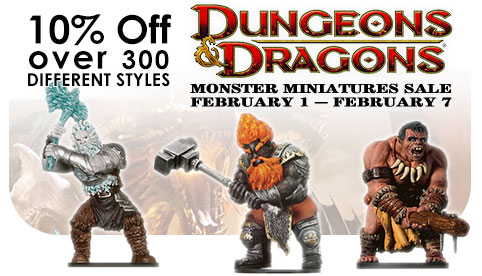 D&D Minis Monsters Sale