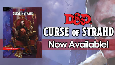 Dungeons and Dragons: Curse of Strahd Adventure (Fifth Edition)