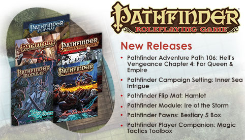 Pathfinder Releases - May 26, 2016